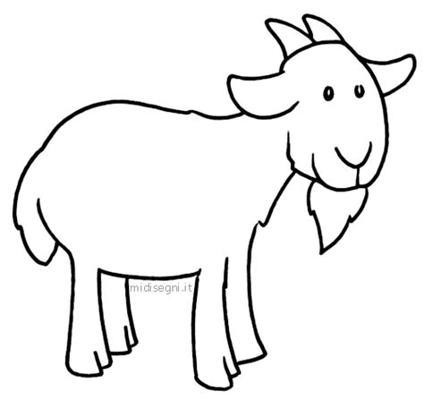 free coloring pages of billy goats gruff