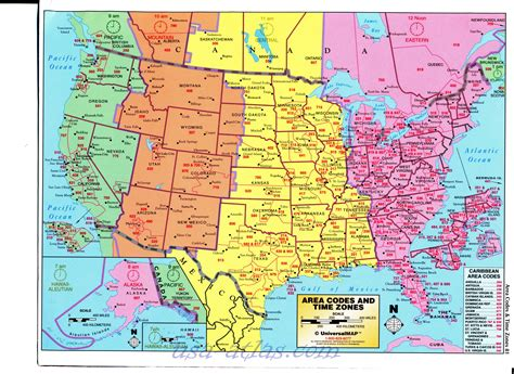Large us time zone map for pinterest