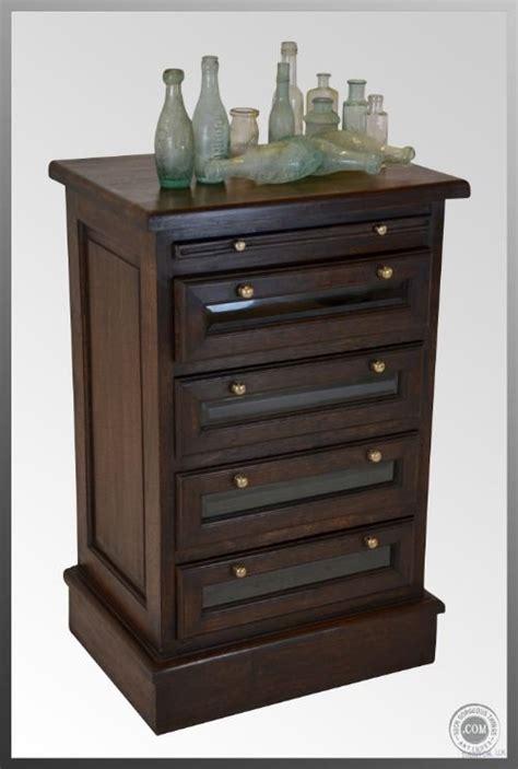 set of specimen drawers collectors chest antique c1920four