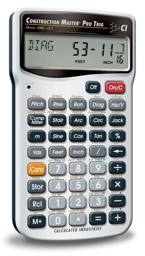 calculator function amazon com calculated industries 4080 construction master