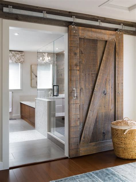 sliding bathroom barn door nail blog learn double sliding barn door plans