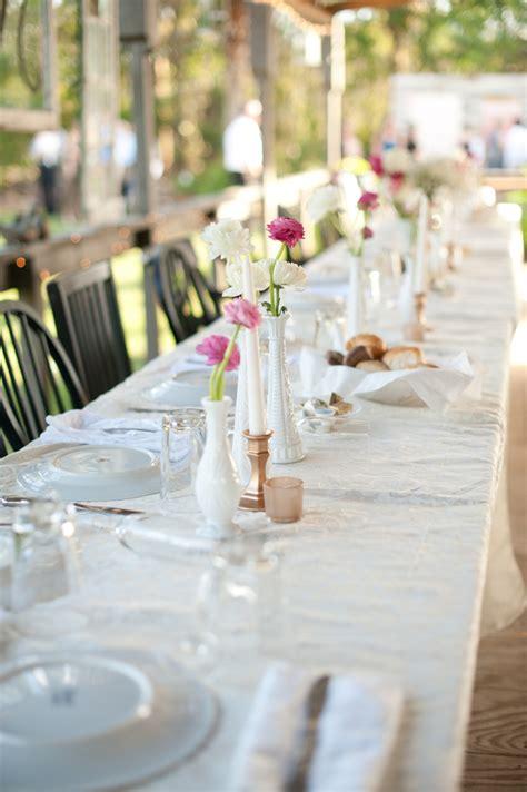 milk glass bud vases elizabeth designs the wedding