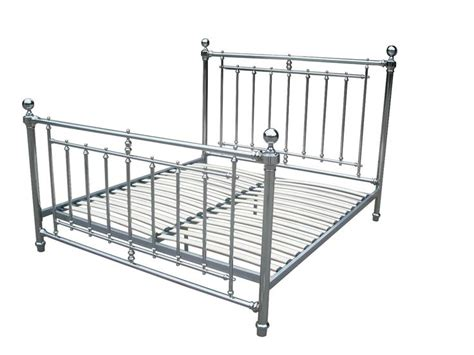 Chrome Bed Frames Chrome Bed Frame Size Bed Frame Nickel Chrome Plated Bed Frame 19th Century Style