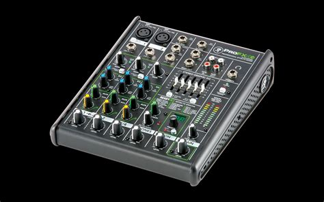 Mixer Mackie 4 Chanel mackie profx4v2 4 channel professional effects mixer