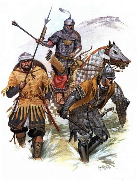 ottoman turkish warriors during the fall of constantinople