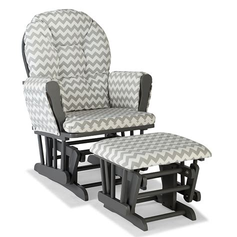 grey and white glider and ottoman gray rocking chair endearing fabulous white gliders and