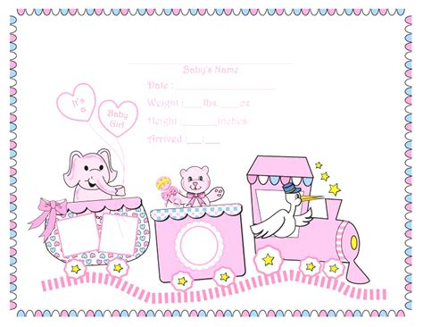 Baby Birth Card Template by Baby Birth Certificate Template Letter Of Sponsorship For