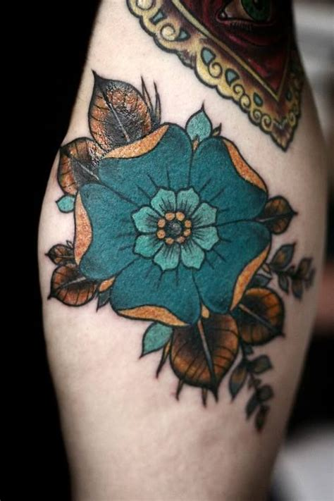tattoo flower vintage vintage flower tattoo body mods pinterest