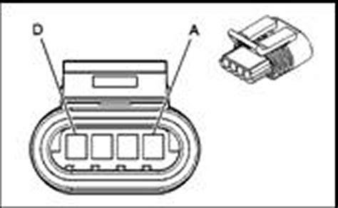 repair guides connector pin identification idle air control iac valve connector