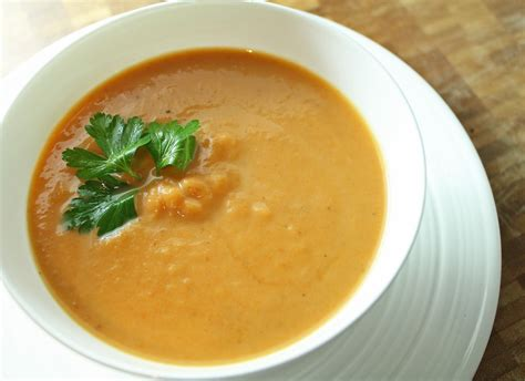 roasted carrot soup recipe dishmaps