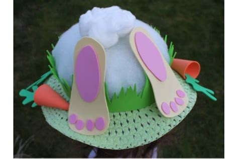 Easter Bonnet Hat Templates