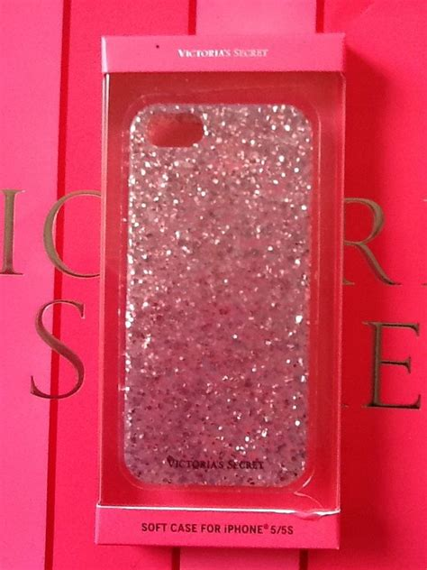 Softcase Iphone 5 Glitter Airsilikon Iphone 5 Glitter Air victorias secret pink glitter iphone 5 5s soft pink glitter secret and phone