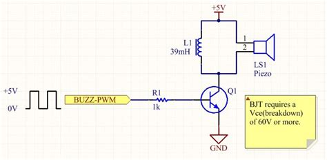why we use inductor in ac circuit why parallel inductor with piezo transducer plate