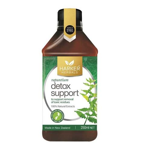 Now Detox Support Review by Harker Herbals Detox Support Healthpost Nz