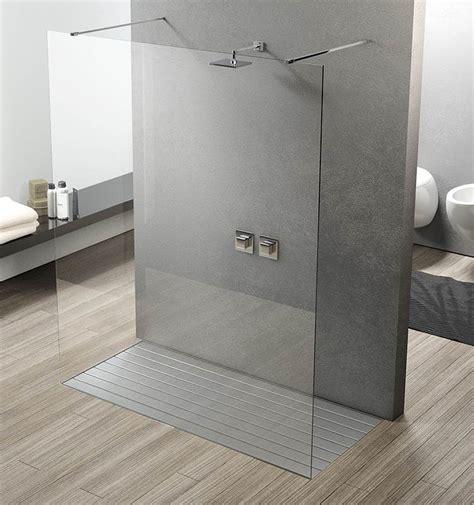 parete fissa doccia box doccia parete fissa unica su misura vetro cristallo