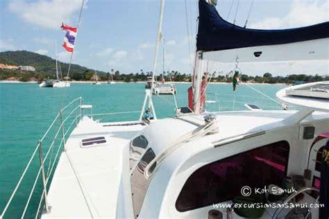 catamaran sailing koh samui sailing catamaran quot vickey quot koh samui
