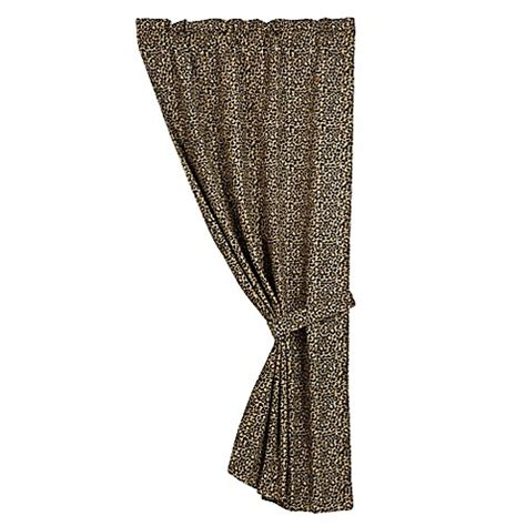 bed bath and beyond san angelo hiend accents san angelo leopard window curtain panel