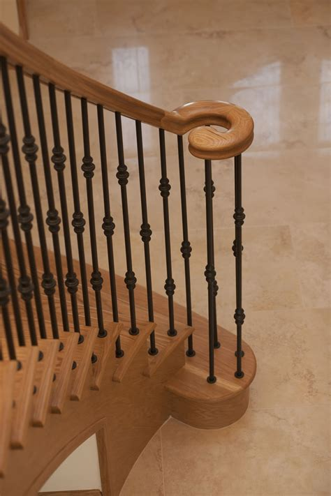 oak handrails for stairs bespoke staircases from haldane