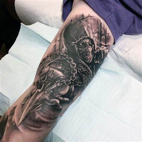 tattoos for men inner arm 90 bicep tattoos for masculine design ideas