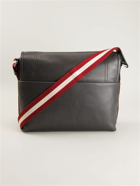 Bally Bottine Messenger Bag by Lyst Bally Messenger Bag In Gray For