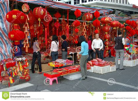 Decoration China by Decoration Stalls Editorial Photography