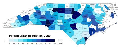 population map of carolina demographics and deception map skills and higher order