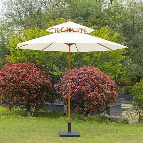 Sun Canopy For Garden Outsunny Garden Wood Wooden Patio Parasol Sun Shade