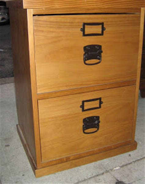 Real Wood File Cabinets by Uhuru Furniture Collectibles Real Wood