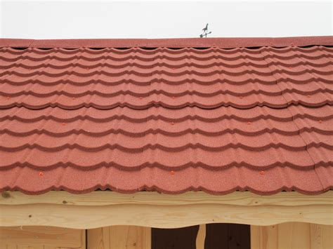 Metal Roof Tiles Metal Roofing Sheets For Log Cabins And Garden