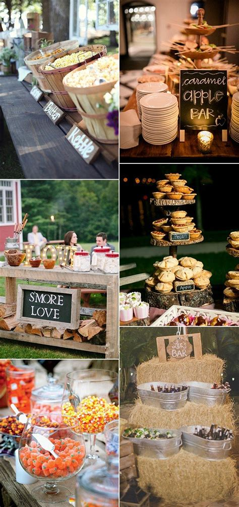 Wedding Buffet Food Ideas by 70 Amazing Fall Wedding Ideas For 2018 Page 4 Of 4 Oh