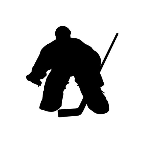 hockey player silhouettes hockey player decals hockey