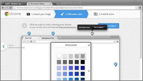 chrome theme creator fix google chrome showing xp style classic blue titlebar