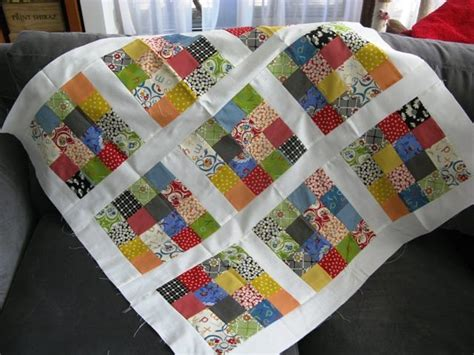 Patch Quilt Pattern Free by Sixteen Patch Baby Quilt Favequilts