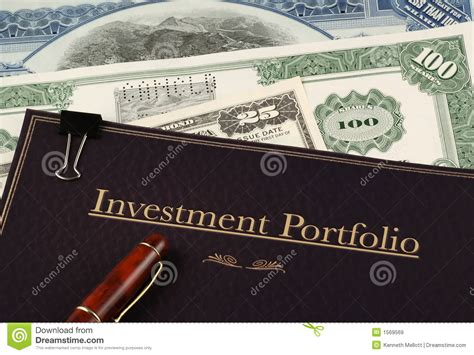 section 11 of the securities act investment portfolio royalty free stock images image
