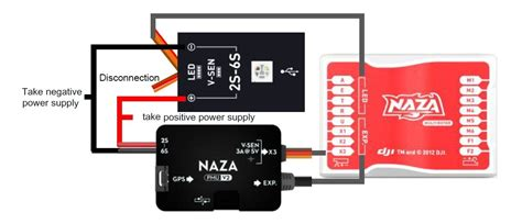 Naza M Lite Pmu naza m v2 with more features and function extension