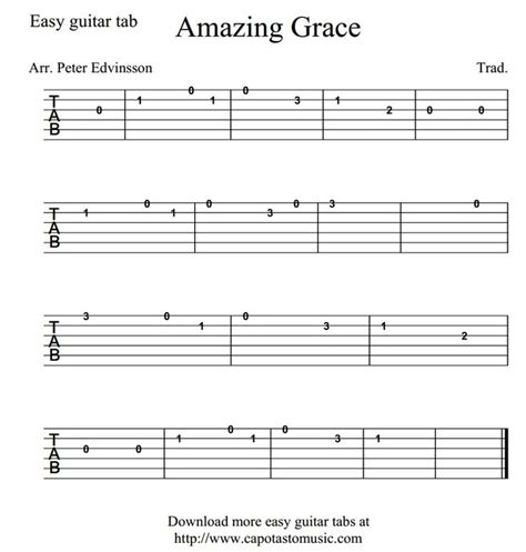 Chords For Easy Guitar Songs