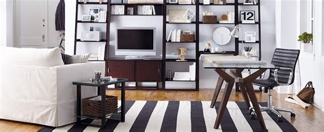 new ideas for creating a home office love chic living home office ideas crate and barrel