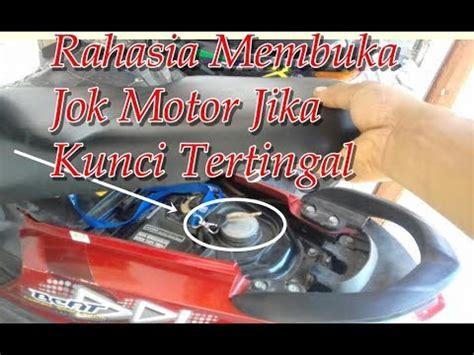Cara Membuka Magnet Kunci Motor rahasia membuka jok motor jika kunci tertingal di dalam
