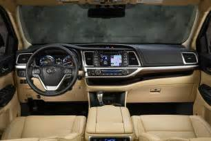 Toyota Highlander Interior Colors News Redesigned 2014 Toyota Highlander Starts At 29 215