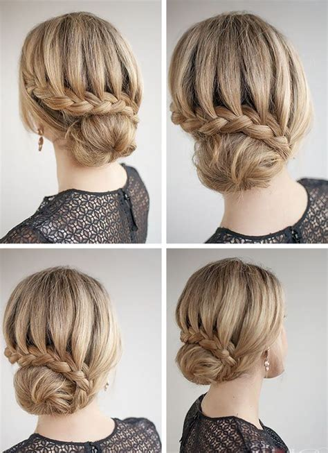 1000 ideas about easy bun hairstyles on hair