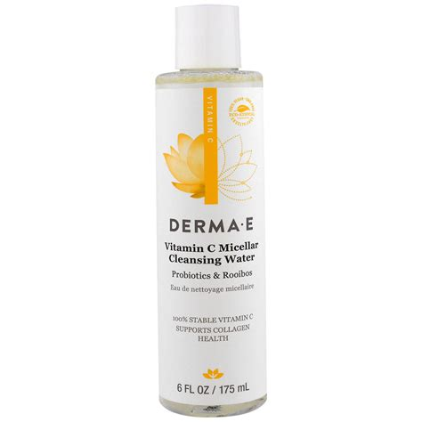 Can You Detox With Vitamin C by Derma E Vitamin C Micellar Cleansing Water Probiotics