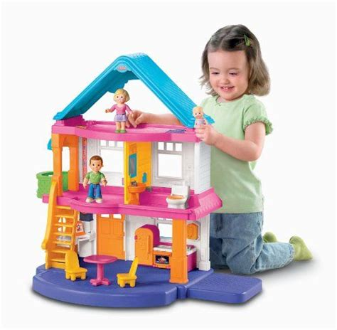 Fisher Price My First Dollhouse Dollhouse Doll House Best Gift For Toddler 2