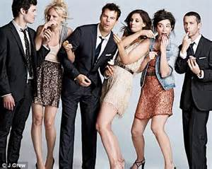 The Romantics 2010 Katie Holmes Is The Queen Of Cool In New J Crew Caign 10 Years After Dowdy Dawson S Creek Ad