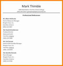 Template For List Of References 6 Job Reference Format Autobiography Format