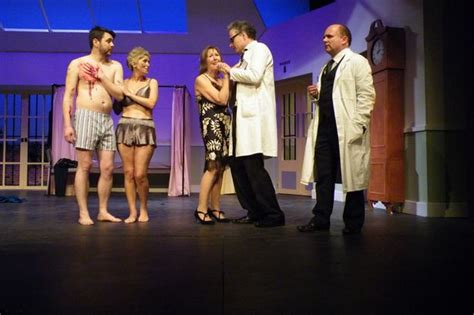 what the saw review what the butler saw at concordia theatre isaac ashe hinckley times