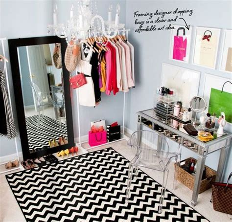 Closet Room by How To Turn A Small Bedroom Into A Dressing Room