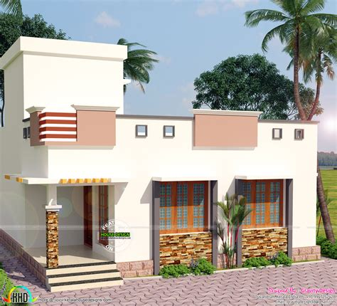 kerala home design 900 sq feet 900 sq ft 2 bedroom modern home kerala home design and