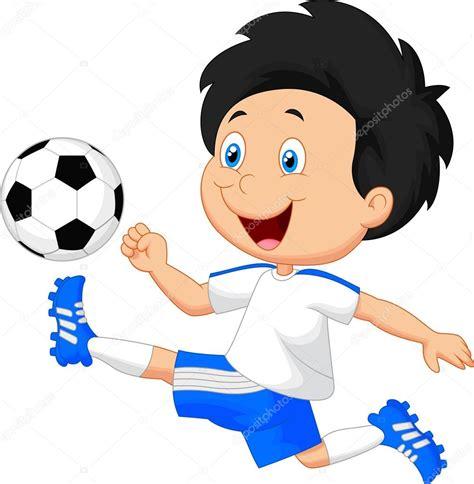 imagenes de niños jugando golosa ni 241 o jugando al f 250 tbol vector de stock 169 tigatelu 49606639