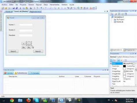 tutorial visual basic 2008 tutorial visual basic 2008 como hacer una calculadora