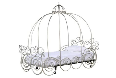 carriage canopy bed carriage bed princess canopy bedroom set cinderella baby